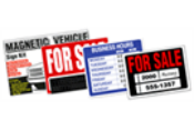 GARVEY SIGN KITS/PRINTED PLASTIC SIGNS